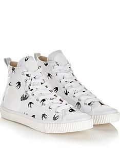 mcq-alexander-mcqueen-mens-swallownbsplogo-plimsoll-high-top-trainers-white