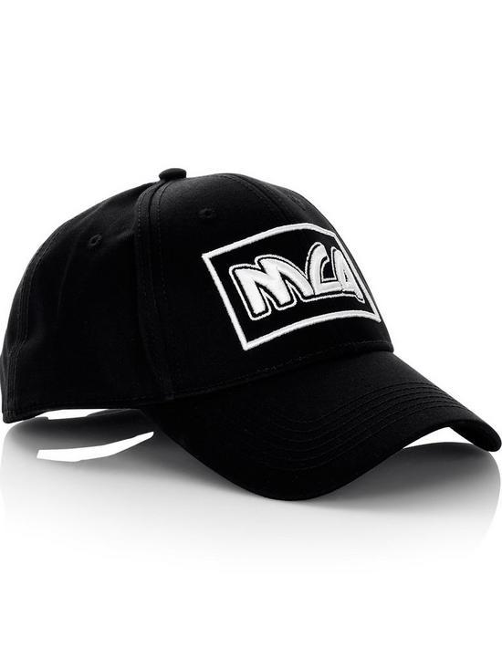 c3646597b22386 MCQ ALEXANDER MCQUEEN Men's Square Logo Baseball Cap - Black   very ...