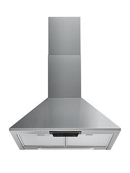indesit-uhpm63fcsx1-60cm-chimney-cooker-hood-stainless-steel