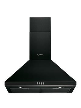 indesit-ihpc64lmk-60cm-chimney-cooker-hood-black