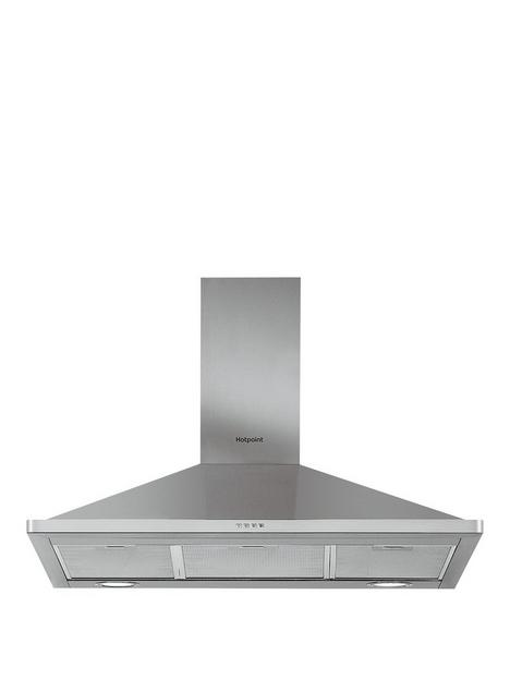 hotpoint-phpn95flmx-90cmnbspwide-pyramid-cooker-hood-stainless-steel