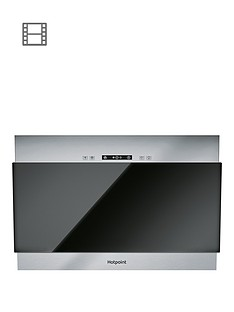 hotpoint-phvp64falk1-60cmnbspwide-vertical-glass-cooker-hood-black