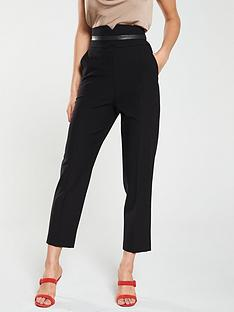 karen-millen-high-waist-trousers-black