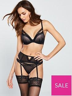 gossard-sheer-seduction-thong-black
