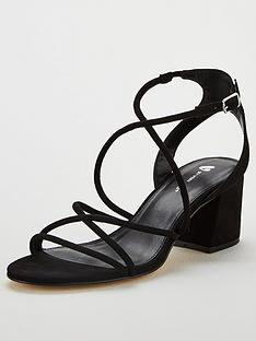 d4e06520b8a V by Very Gwen Strappy Heeled Sandal