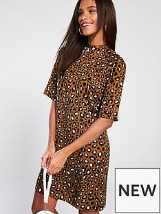 v-by-very-animal-high-neck-swing-tunic-print