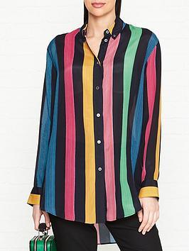 ps-paul-smith-rainbow-stripe-oversize-shirt-multi