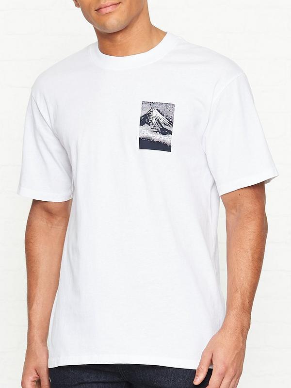dee67cf6d EDWIN From Mount Fuji Back Print T-shirt - White