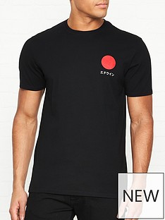 edwin-japanese-sun-t-shirt-black