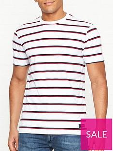 edwin-west-stripe-t-shirt-white