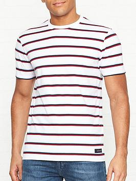 edwin-west-stripe-t-shirt-white