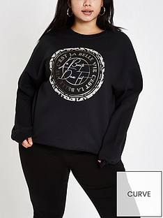 ri-plus-printed-sweatshirt-black
