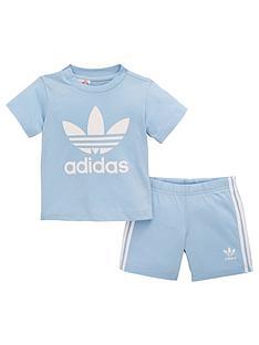 b2627ea522538 adidas Originals Adidas Originals Baby Boys Short   Tee Set