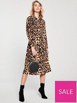 v-by-very-tie-waist-leopard-midi-shirt-dress-leopard-print