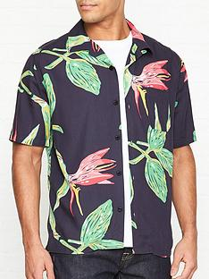 edwin-resort-print-short-sleeve-shirt-navy