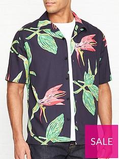 edwin-resort-print-short-sleeve-shirt-navy