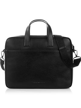 emporio-armani-mens-pebble-grain-leather-briefcase-black