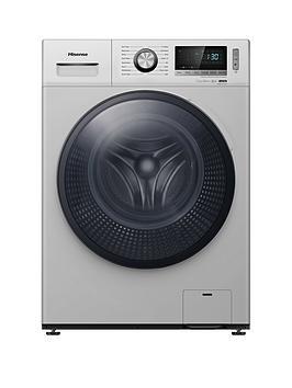 Hisense Wfbl7014Vs 7Kg Load, 1400 Spin Washing Machine - Silver