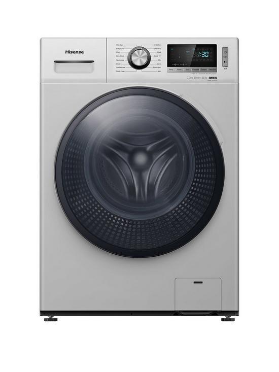 WFBL7014VS 7kg Load, 1400 Spin Washing Machine - Silver
