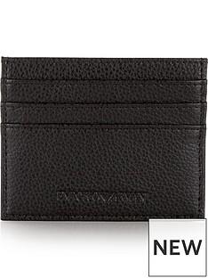 emporio-armani-mens-pebble-grain-leather-credit-card-holder-black
