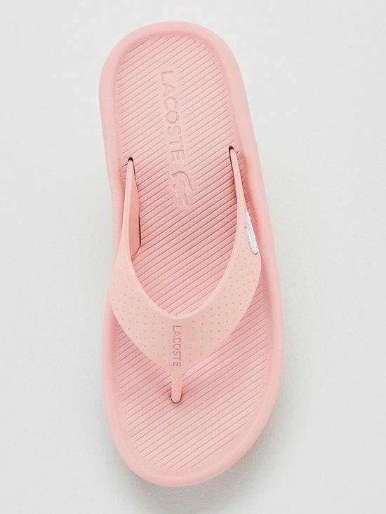 451c325da ... Lacoste Lacoste Croco Sandal 219 1 Cfa Lt Flip Flop. View larger