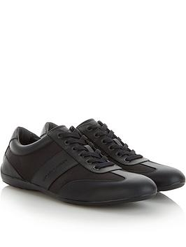 emporio-armani-mens-leathernbspand-mesh-trainers-black