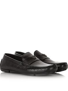 emporio-armani-mens-eaglenbsplogo-leather-loafers--nbspblack