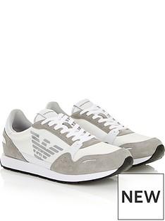 emporio-armani-contrast-fabric-runner-trainers-white