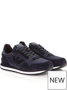 emporio-armani-contrast-fabric-runner-trainers-navy
