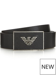 emporio-armani-mens-eagle-buckle-saffiano-leather-belt-black
