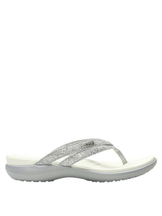 94b296a3434 Crocs Capri Strappy Flip Flop | very.co.uk