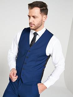 v-by-very-slimnbspsuit-waistcoat-blue