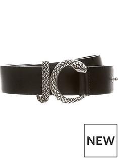 just-cavalli-mens-jc-buckle-leather-beltnbsp-nbspblack