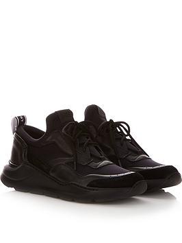 just-cavalli-mens-leather-and-neoprene-trainersnbsp-nbspblack