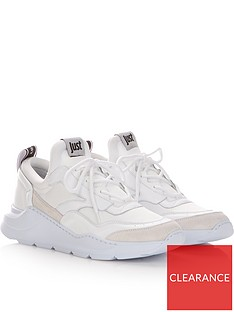 just-cavalli-mens-leather-and-neoprene-trainersnbsp--white