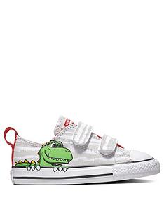 Converse Converse Chuck Taylor All Star 2V Dinosaur Infant Ox 340895a26