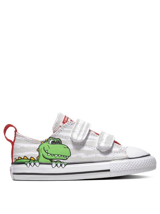 4493aa2ef3ca Converse Converse Chuck Taylor All Star 2V Dinosaur Infant Ox