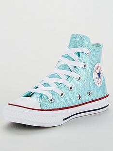 c125e080c022 Converse Converse Chuck Taylor All Star Glitter Junior Hi-Top
