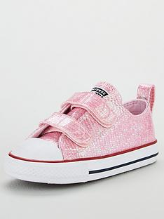 Converse Converse Chuck Taylor All Star Glitter 2V Infant Ox 692bb964b
