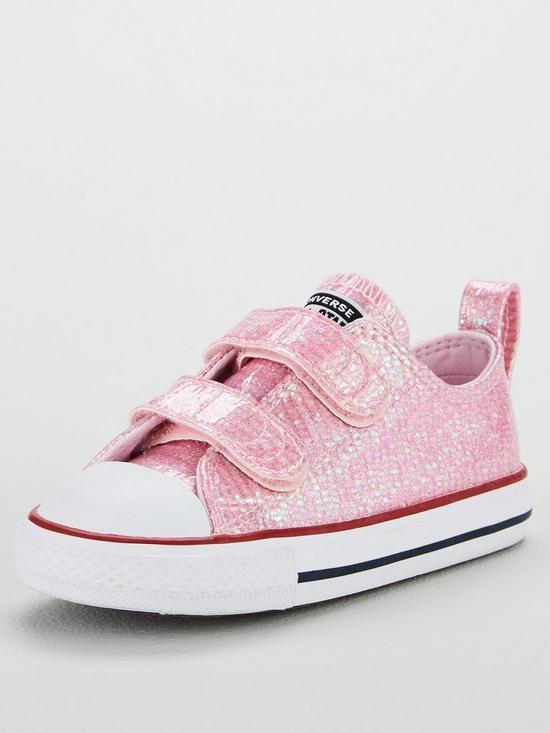 0afa0416e7fb Converse Converse Chuck Taylor All Star Glitter 2V Infant Ox