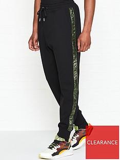 just-cavalli-logo-print-tape-joggersnbsp--black