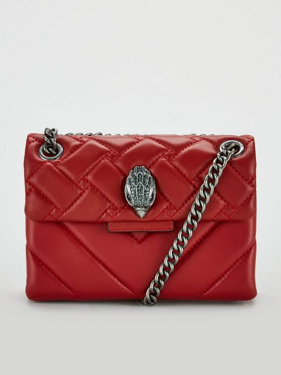 b0c23f6cc KURT GEIGER LONDON Mini Kensington Crossbody Bag - Red