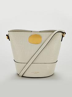 kurt-geiger-london-petal-bone-buckle-bucket-bag-grey