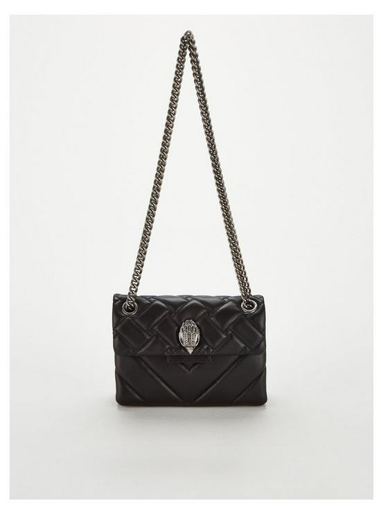 8fc182f25c6d KURT GEIGER LONDON Mini Kensington Crossbody Bag - Black
