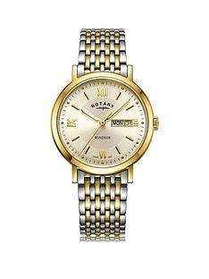 rotary-rotary-windsor-gold-daydate-dial-two-tone-stainless-steel-bracelet-mens-watch