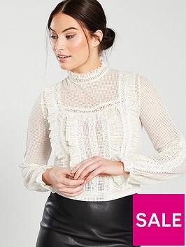 miss-selfridge-victorian-lace-blouse-white