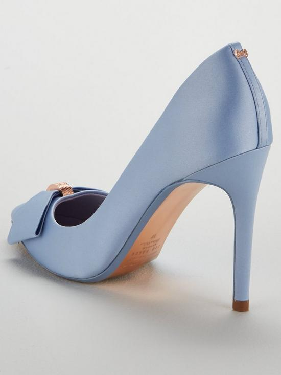 3d42cd4b4a1 ... Ted Baker Skalet 2 Bow Heeled Shoe - Blue. 2 people have looked at this  in the last couple of hrs.