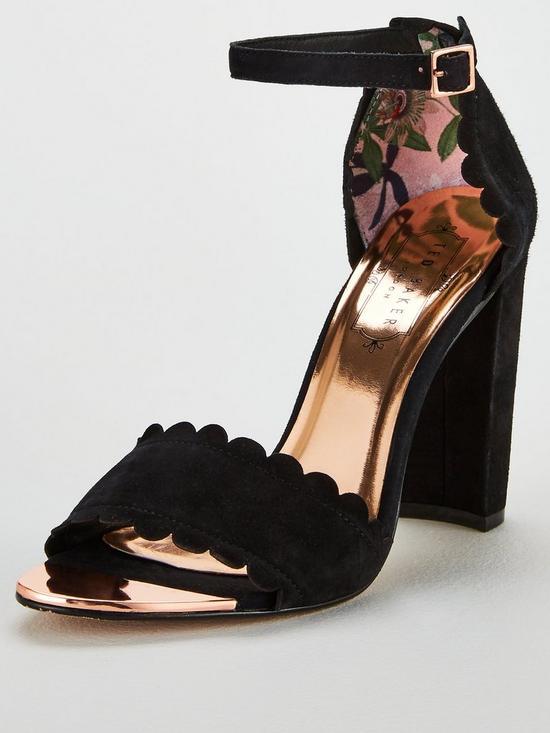 d9eb70491 Ted Baker Raidha Heeled Sandal - Black
