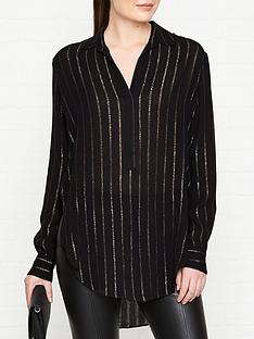 allsaints-keri-striped-shirt-black