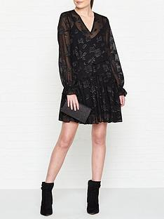 allsaints-alia-floral-print-dress-black